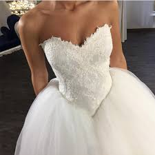 corset wedding v neck wedding dress lace appliques dress tulle gowns corset