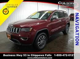 2018 jeep tomahawk used 2018 jeep grand cherokee for sale in tomahawk wi edmunds