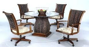 Chromcraft Furniture Kitchen Chair With Wheels Castered Kitchen Chairs Kitchen Furniture Dining Room Furniture