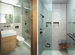 nyc bathroom design small doorless shower designs nyc shoebox studio apartment