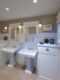 craftsman bungalow bathroom home decorating interior design