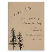 rustic save the dates winter save the dates invitations by