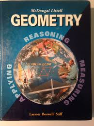mcdougal littell geometry bylarson larson amazon com books