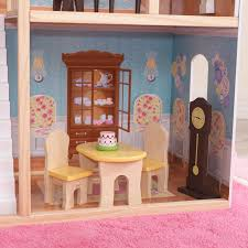 How To Make Dollhouse Furniture Out Of Household Items Kidkraft Majestic Mansion Dollhouse With 34 Accessories Walmart Com