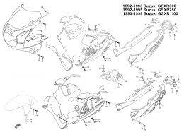 complete black fairing bolt kit body screws for suzuki gsxr 1100