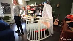 Stokke Mini Crib by Stokke Mini U0026 Sleepi Gebruiksaanwijzing En Mijn Ervaring Youtube