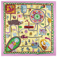 Grayson Perry Vanity Of Small Differences Grayson Perry Silk Scarf Saw This At The Exhibition
