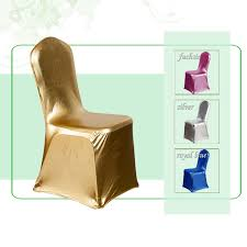 gold chair covers online get cheap metallic silver chair covers aliexpress