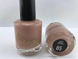 light brown nail polish amazon com mirage nail polish light brown 85 beauty