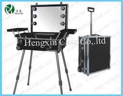 makeup case with lights and mirror hx db3720 china professional cosmetic makeup case with lights with