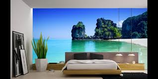 Bedroom Wall Murals by Tropical Wall Murals Inspired Office Spaces Pinterest Wall