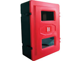 buy double fire extinguisher cabinet free delivery