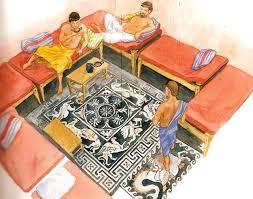 banchetti antica roma pescara a tavola con gli antichi romani
