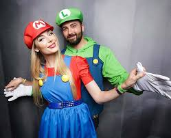 Mario Luigi Halloween Costumes Couples 23 Halloween Costume Ideas Couples 2 2 Stayglam