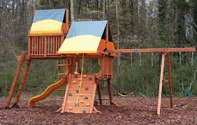 Backyard Play Systems by Make Your Backyard Kid Friendly With The Hottest Trends In Swing