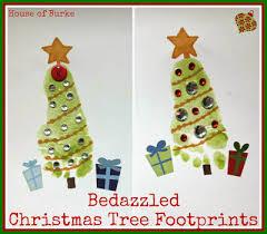 Handprint And Footprint Christmas Crafts