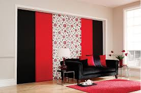 Red Blackout Blind Blackout Blinds In Burton Upon Trent And Kettering