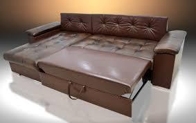 Leather Corner Sofa Bed Leather Corner Sofa Bed Mike Universal Hand Brown