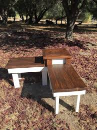 remodelaholic build a corner bench with built in table