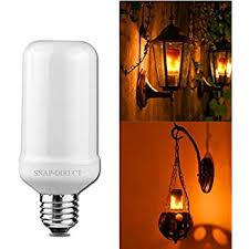 Creative Light Fixtures Led Flickering Flame Bulb Creative Lights With Flickering