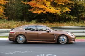 Porsche Panamera Brown - spyshots second generation porsche panamera starts testing