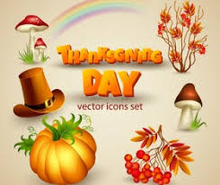 thanksgiving day vector for free