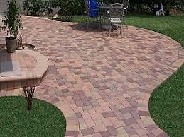 Lowes Patio Pavers Designs Patio Stones Lowes Paving Backyard Concrete Pavers Paver