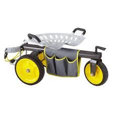 gorilla carts rolling garden scooter gor rgc the home depot