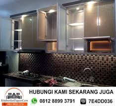 Kitchen Set Aluminium Kitchen Set Aluminium Bogor Bojong Gede Cibinong Sentul 0812 8899