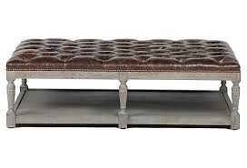 Tufted Coffee Table Large Tufted Ottoman Coffee Table Furniture