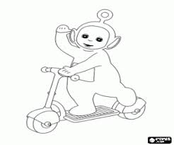 teletubbies coloring pages printable games
