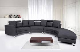 Curved Sofa Designs by Excellent Circular Settee Sofa 4741