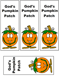 halloween printable bookmarks pumpkin sunday lesson preschool kids fall lesson plans