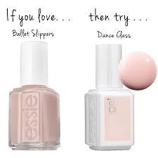 ballet slippers u003d dance class essie nail polish essie gel