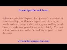 wedding speeches groom wedding speeches 3 tips to worry free writing of wedding