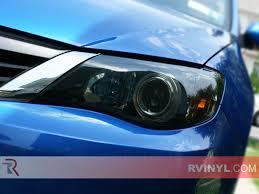 subaru impreza hatchback custom rtint subaru impreza 2008 2009 headlight tint film