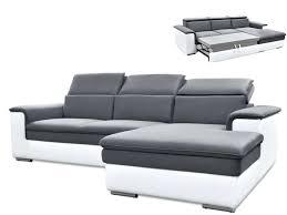 canap d angle convertible simili cuir canape d angle convertible cuir blanc canapac design dangle studio