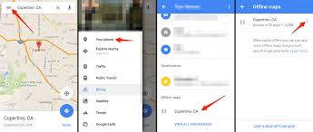 Cupertino Map How To Use Google Maps Offline Mode On Ios