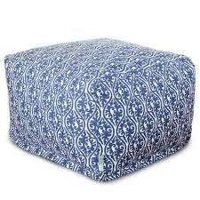 ottoman attractive navy blue ottoman modern furniture bean bag