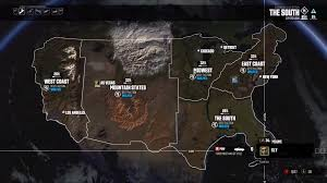 Tom Clancy S The Division Map Size So This Is What The United States Looks Like In The Crew Gaming