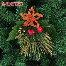 aliexpress com buy christmas tree decoration 17cm bronze pine