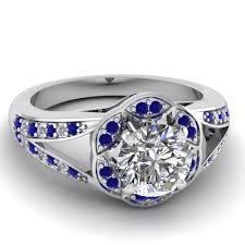 flower shaped rings images Shop flower engagement rings style fascinating diamonds jpg