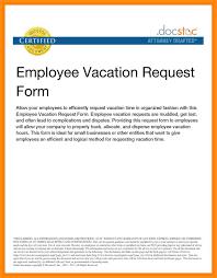 doc 750562 leave request sample u2013 letter of leave 94 similar