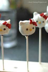 hello kitty birthday cake pops image inspiration of cake and