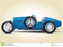 blue bugatti blue bugatti 37a stock illustration image 52185168