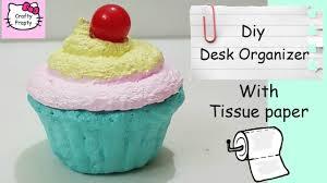 Diy Storage Box by Diy Desk Organizer With Tissue Paper Diy Storage Box Diy Homemade
