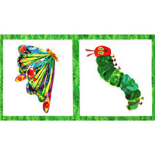 the hungry caterpillar panel butterfly white multi discount