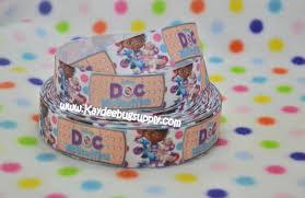 doc mcstuffins ribbon doc mcstuffins bandaid polka dots 1 inch