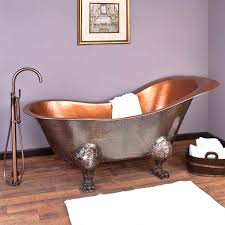 bathtubs charming hammered copper clawfoot bathtub 29 rosalind