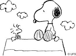 snoopy coloring pages print happy birthday pics peanuts free